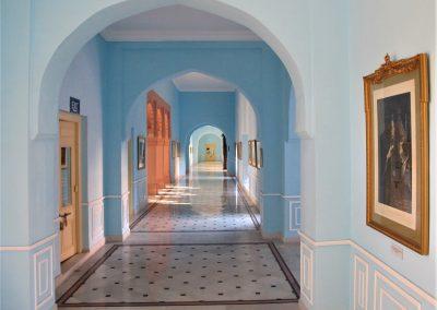 Heritage hotel i Bikaner. Indien.
