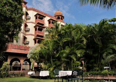 Hotel i Pushkar. Indien