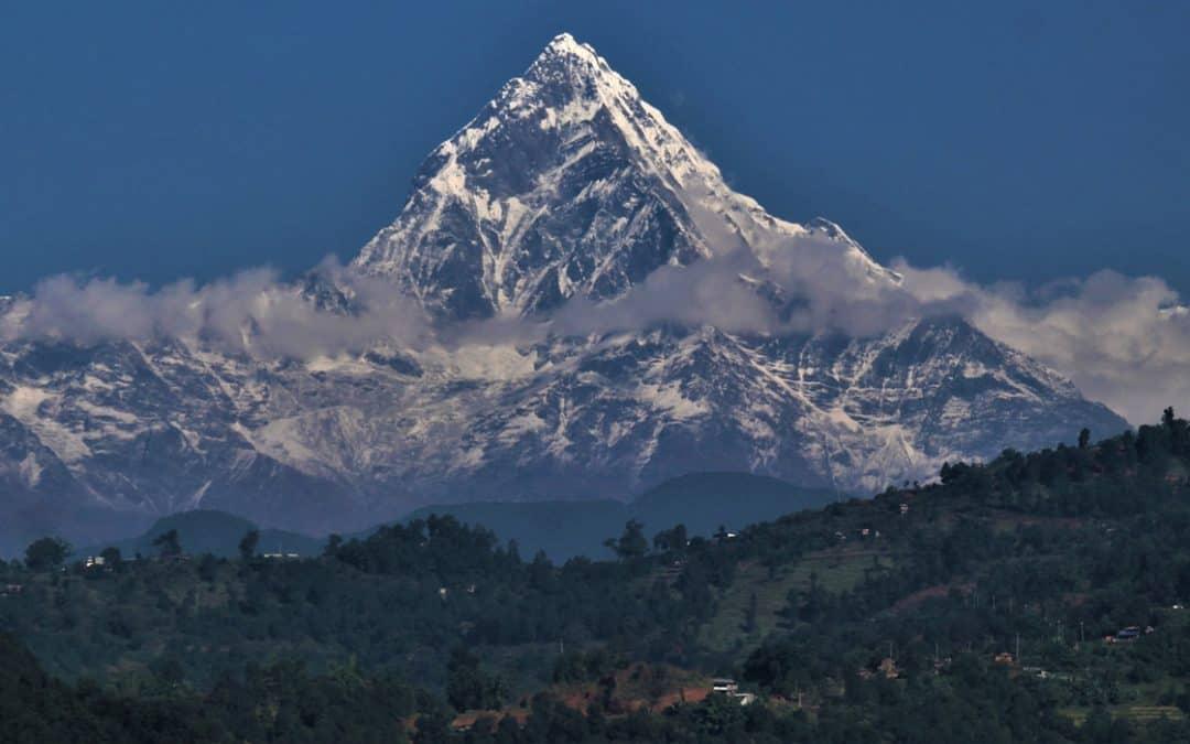 På motorcykel gennem Nepals Himalaya
