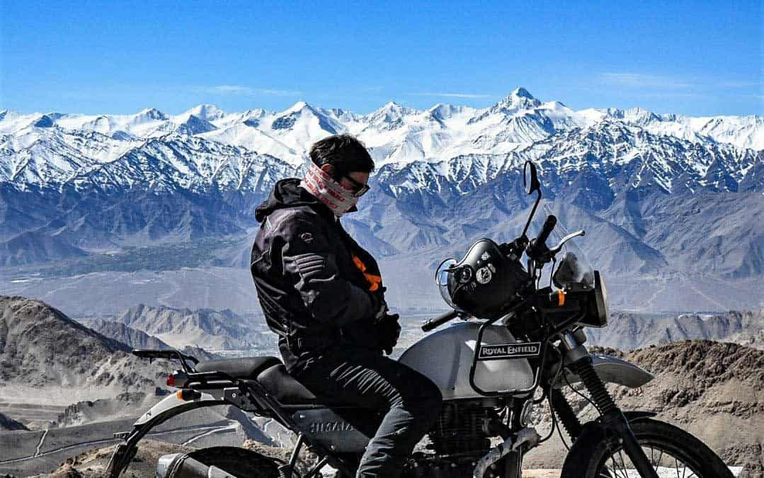 Himalaya på en Royal Enfield