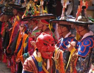 Bhutan Buddhistiske Festival